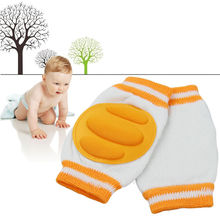 2016 Baby Kids Crawling Knee Pads Cotton Baby Safety Crawling Elbow Cushion Toddlers Knee Protector Leg Warmer Hot VCI28 P15 0.5(China (Mainland))