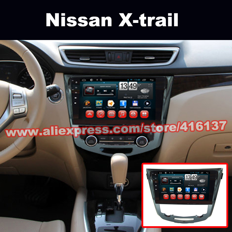 2 Din Gps Navigation Android Car Radio Stereo for Nissan Qashqai and X-trail with Quad Core Bluetooth Mp3 Mp4 MP5 No-DVD Player(China (Mainland))