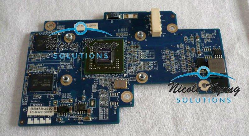 GeForce Go 7300 LS-3457P FRU 41R7696 VGA Video Card for lenovo thinkpad 3000 N200 F40A F40 F50A Y400 laptop(China (Mainland))