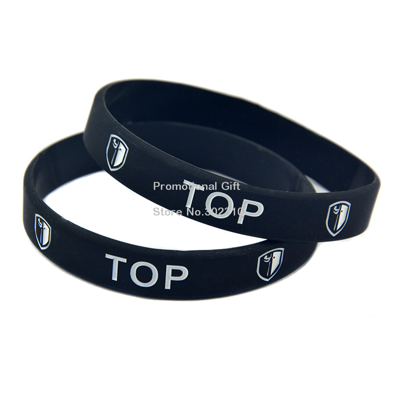 1PC LOL Terminology TOP JUNGLE ADC MID and Support Silicone Wristband Debossed Bracelet(China (Mainland))