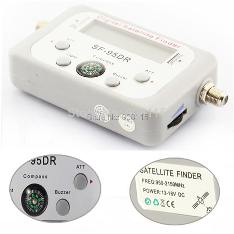 DBPOWER Satellite Signal Finder Meter Satfinder Tool LCD DIRECTV DISH FTA TV Singnal Finder(China (Mainland))