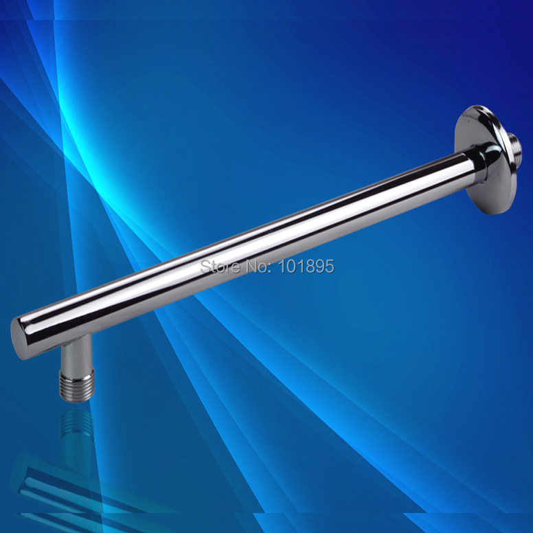 """Retail - Luxury Brass Shower Arms, Wall Mounted L Shape, 35CM Length with G1/2"""" Thread, Free Shipping X15006(China (Mainland))"""
