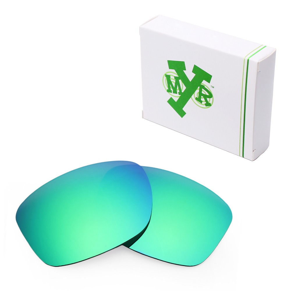 MRY POLARIZED Replacement Lenses for Oakley Jupiter Squared Sunglasses Emerald Green