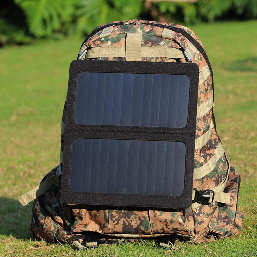 Portable Foldable Dual USB Port Solar Battery Charger bag For Laptop PC Phone free shipping<br><br>Aliexpress