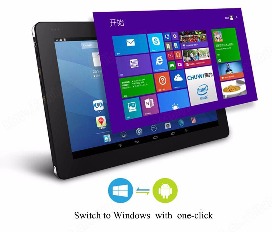 10 6 inch 1366 768 Chuwi Vi10 Tablet In tel Z3736F Quad Core 2GB RAM Dual