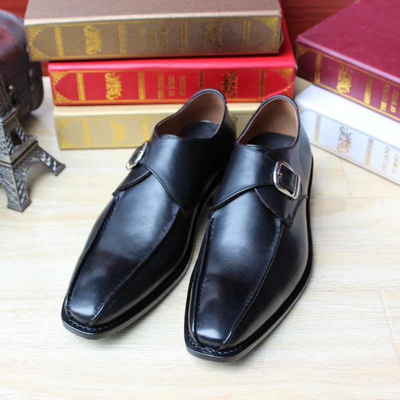 Goodyear hand-sewn leather shoes full leather business shoes custom-made custom shoes leather-soled men dress shoes<br><br>Aliexpress