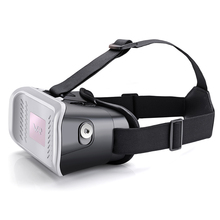 Head Mount Plastic Version VR Virtual Reality Glasses magnet Control Google Cardboard for 3D Movies Games Bluetooth Wireless