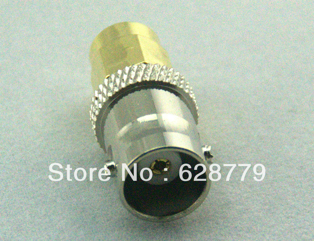 BNC female to SMA male adapter RF connector<br>
