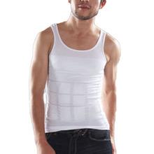 Summer Ventilation Comfort Men Body Slimming Vest Chest And Abdomen Tight Waist Breathable Underwear MF-5901(China (Mainland))