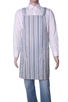 General corduroy tooling aprons lovers home aprons blue bar
