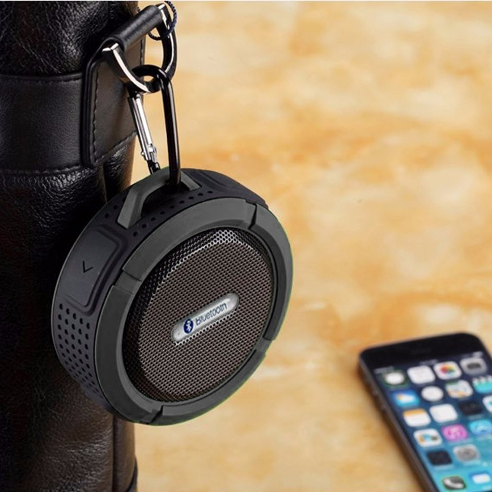 portable Waterproof Wireless Bluetooth Speaker loud speaker receiver sound box Handsfree subwoofer For xiaomi notebook phone (14)