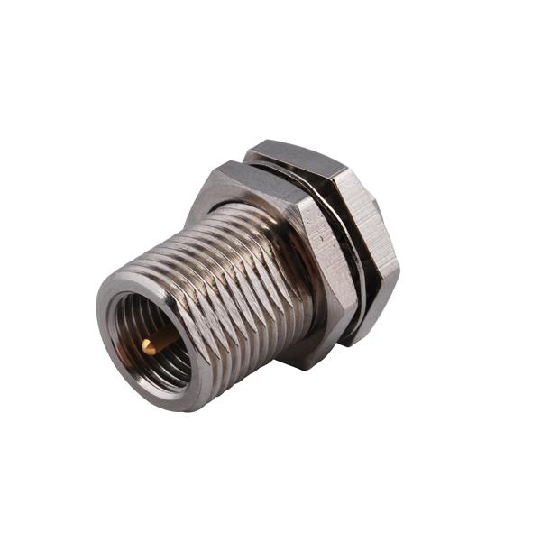Rf electrical wire terminal connector fme plug bulkhead
