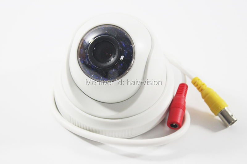 Free Shipping Mini Camera Surveillance Security IR Night vision Dome Camera HD 800TVL PAL/NTSC(China (Mainland))