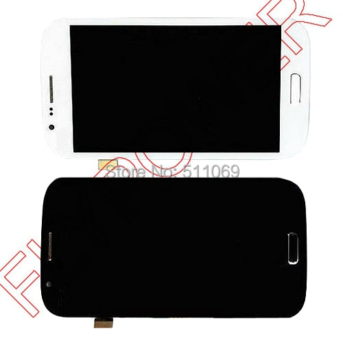 For Samsung for Galaxy Grand Neo i9060 LCD Screen Display with Touch Digitizer Assembly+frame by free DHL,UPS,EMS;5pcs/lot(China (Mainland))
