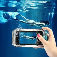 40M 130 FT Professional Diving Waterproof Case for iPhone 6 6s Underwater Phone Bag Cover for iPhone 6Plus Swimming Fishing(China (Mainland))