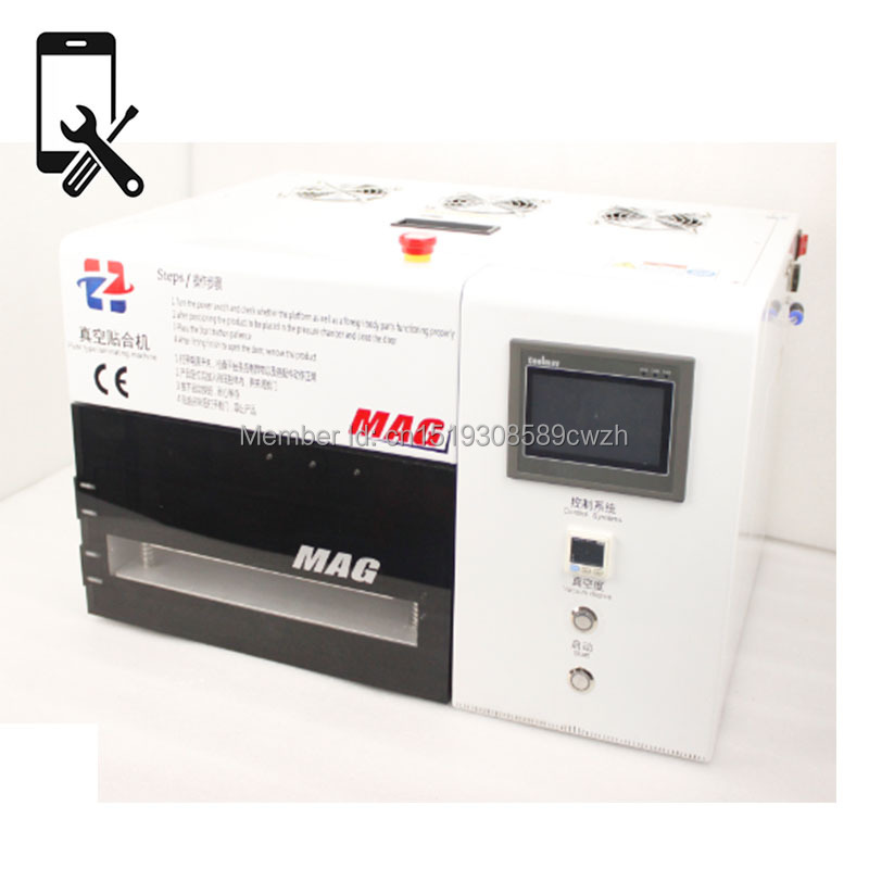 KO MAG 12'' LCD and Glass Assembly Machine for Mobile Phone Repair with Emergency Button(China (Mainland))