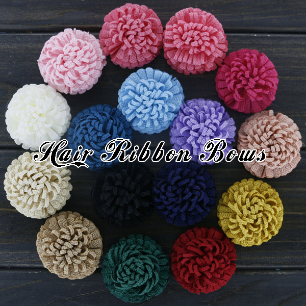 200pcs/lot 2 Turnip Striped Fabric Flowers Baby Girls Boutique Hair Flower For Brooch / Clothes Accessories Одежда и ак�е��уары<br><br><br>Aliexpress