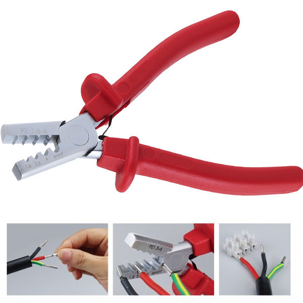 G New Arrival High Quality Germary Stytle PZ 1.5-6 Small Line Pressing Plier Crimping Clamp Shape Tool T<br><br>Aliexpress