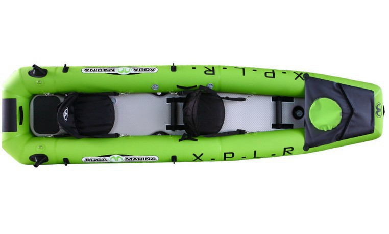 AquaMarina 2015 new Arrival inflatable river boats rubber kayak canoe For 2 persons with oars and handle pump,Free shipping(China (Mainland))