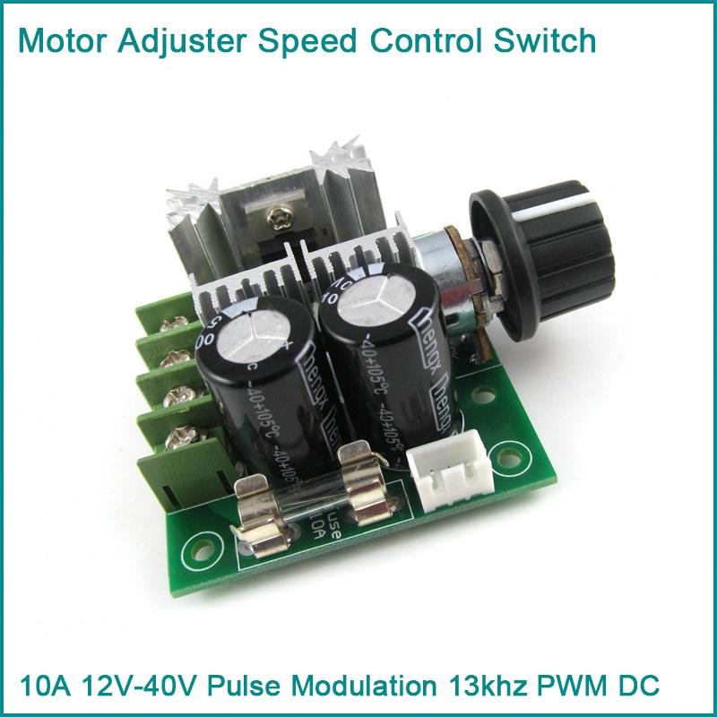 10a 12v 40v Pulse Modulation 13khz Pwm Dc Motor Adjuster