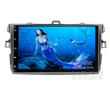 android 4.4 car dvd player Toyota corolla 2007 2008 2009 2010 2011 in dash 2 din 1024*600 car radio gps video player head unit(China (Mainland))