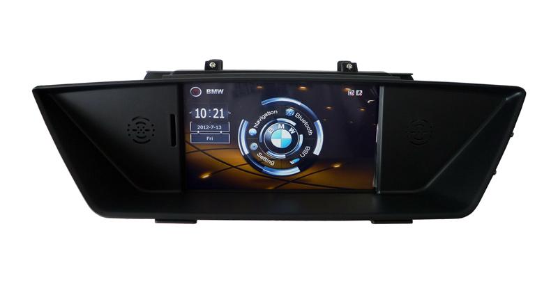 Car DVD GPS Navigation for BMW X1 E84 Radio USB Bluetooth automotivo Keep Orginal CD raido Steering wheel control Touch screen(China (Mainland))