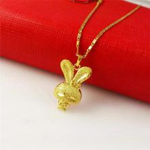 24k gold necklace fashion