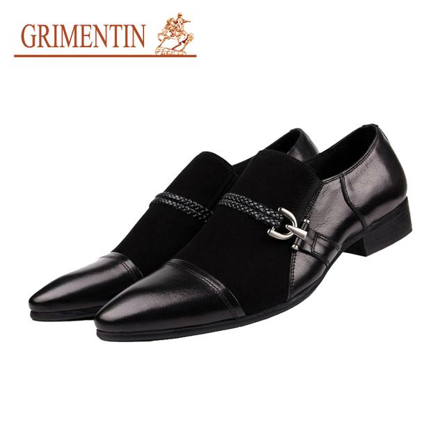 Grimentin мода британский классический роскошный элегантный мужские свободного покроя ...