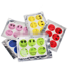 1 Set 6pcs New Hot Mosquito Repellent Patch Smiling Face Drive Midge Mosquito Killer Cartoon Anti Mosquito Repeller Sticker(China (Mainland))