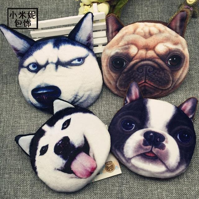 2016 нью-забавные кошельки леди бренд милые плюшевые мультфильм животных творческий ...