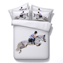 All kinds of horse 3D Bedding Sets 4/5pcs modal Comforter Sets Tiwn Full Queen King Size Duvet Cover Bed Sheet Pillowcases