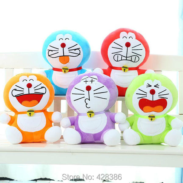 7.8 inch New Brand Doraemon Plush Doll Cat Baby Soft Classic Toy Kids Gift , - Truman Hua's store