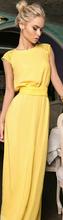 2015 New Fashion Top Dresses chiffon sleeveless solid straight o-neck summer syle sexy women's dresses(China (Mainland))