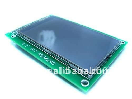 """free shipping,3.2"""" TFT LCD Module Display (400*240)+ Touch Panel + PCB adapter, wholesale price"""