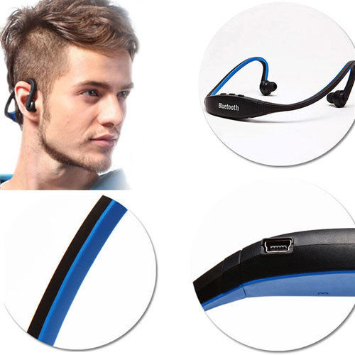 2015 Hot Universal Sport Wireless Bluetooth Stereo Headphone Headset Earphone Handfree For Samsung iPhone