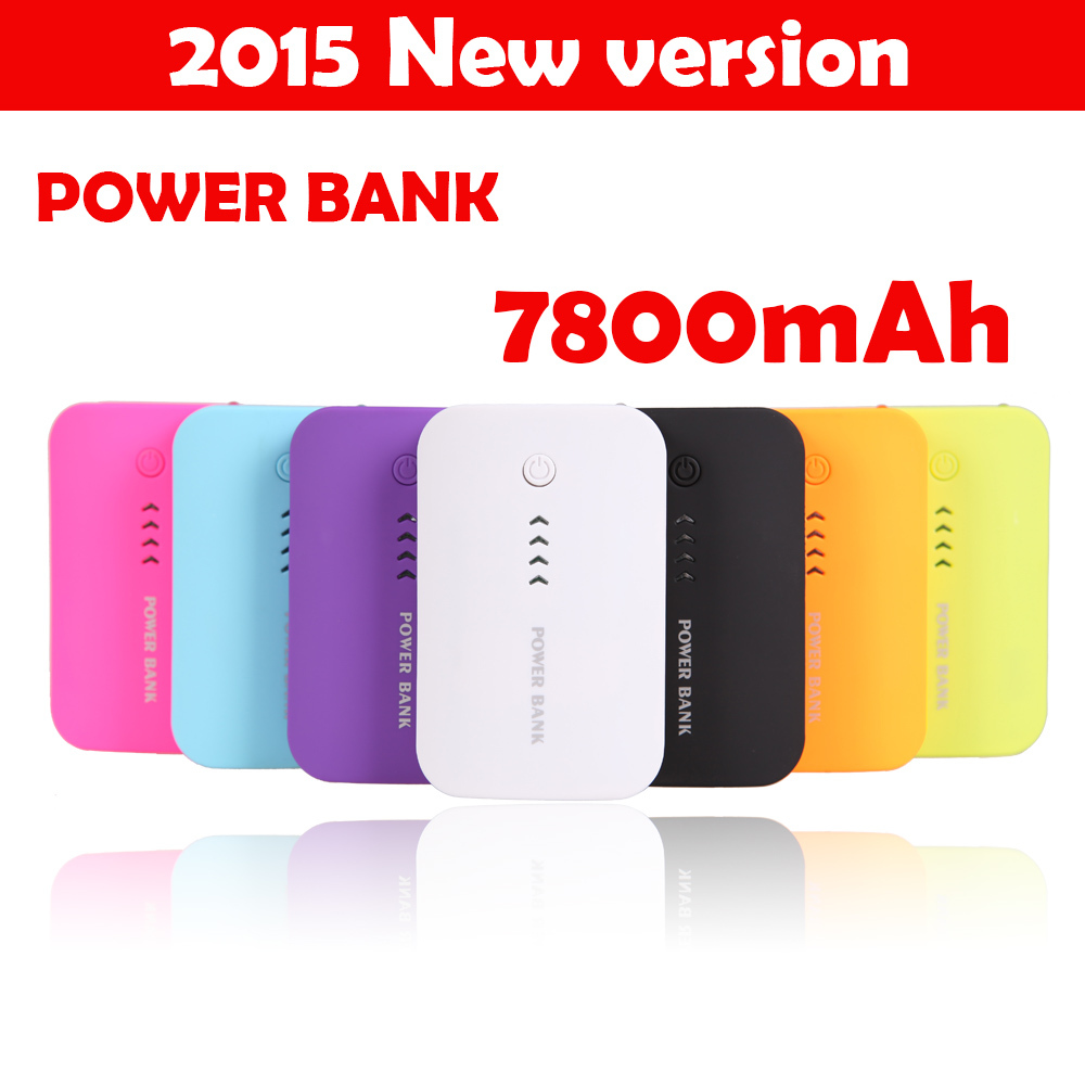 Power Bank 7800mAh USB External Mobile Backup Powerbank Battery for iPhone iPod iPad mobile Phone Universal Charger(China (Mainland))