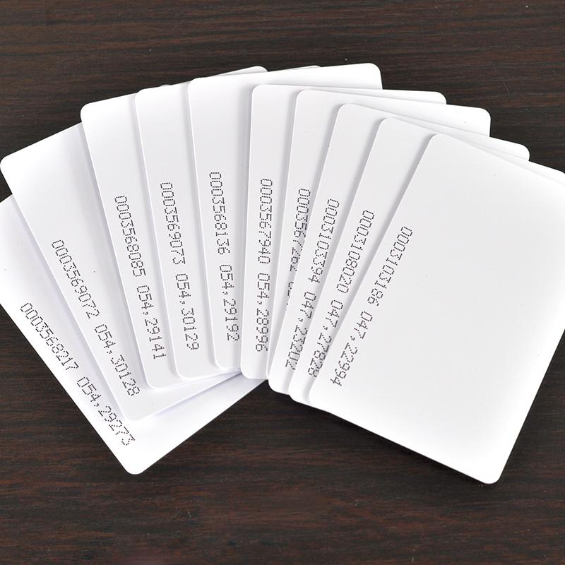 Free Shipping 50pcs/lot 125KHZ EM4100 RFID Card EM ID CARD TK4100 Reaction ID Card for Access Control Attendance<br><br>Aliexpress