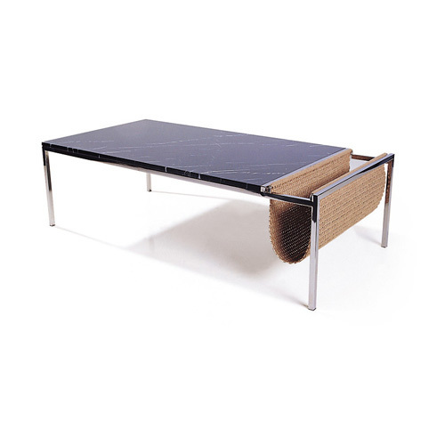 Chair of the world - a long stainless steel marble coffee table coffee table fashion simple storage design CT-2017A(China (Mainland))