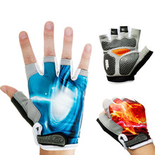 New Arrival OutDoor Sport Summer Half Finger Bike Cycling Gloves Road Racing Bicycle Gloves Silica Gel Breathable Ciclismo Luva(China (Mainland))