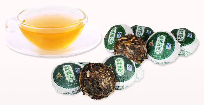 do promotion Free Shipping 50pcs Different Flavor Pu er Pu erh tea Yunnan Puer tea Mini