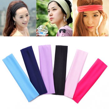Cheapest FREE SHIPPING 50pcs/lots Wholesale Plain magicaf wide ribbon tenfolds sports yoga elastic beam towel 20x5cm