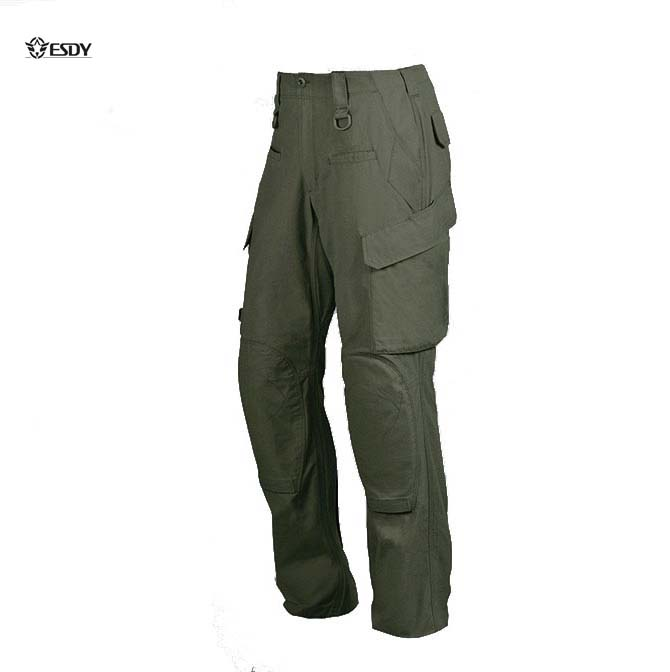 US Army Force 10 Men's Combat Tactical Pants Multi Pockets Work Outdoor Sports Camping Trousers Teflon Fabric YKK zipper(China (Mainland))