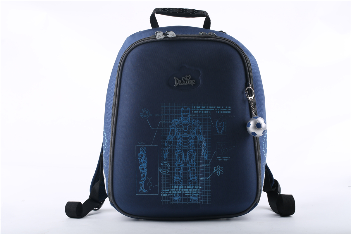 Delune 2016 New Fashion 3D Cartoon Trend Students School Backpack Bag for Boy Girl Children Kid School Bag for Teenagers<br><br>Aliexpress