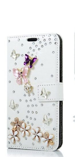 Handmade Bling Diamond Crystal Wallet Leather Case Cover For lenovo VIBE C/A2020 FREE SHIPPING(China (Mainland))