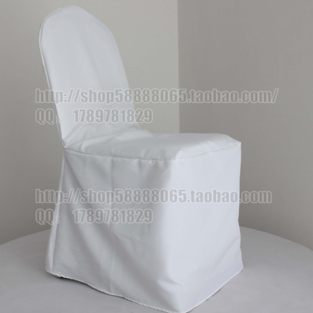 white banquet chair cover polyester chair cover visa chair