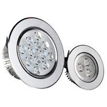 LED Ceiling downlight 1W 3W 5W 7W 9W 12W 15W 18W LED lamp Recessed wall Bulb fixture 85V-265V led lights for home include driver(China (Mainland))