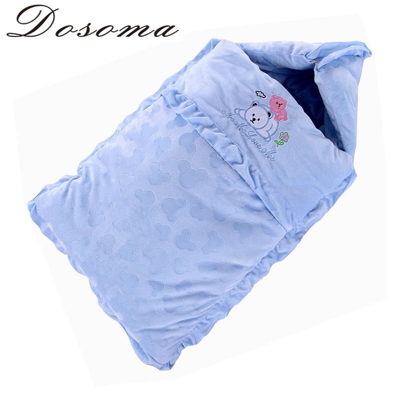 Warm Thicken Cotton Velvet Baby Sleeping Dual-use Newborn Swaddling Baby Winter Coat Autumn &amp; Winter<br><br>Aliexpress