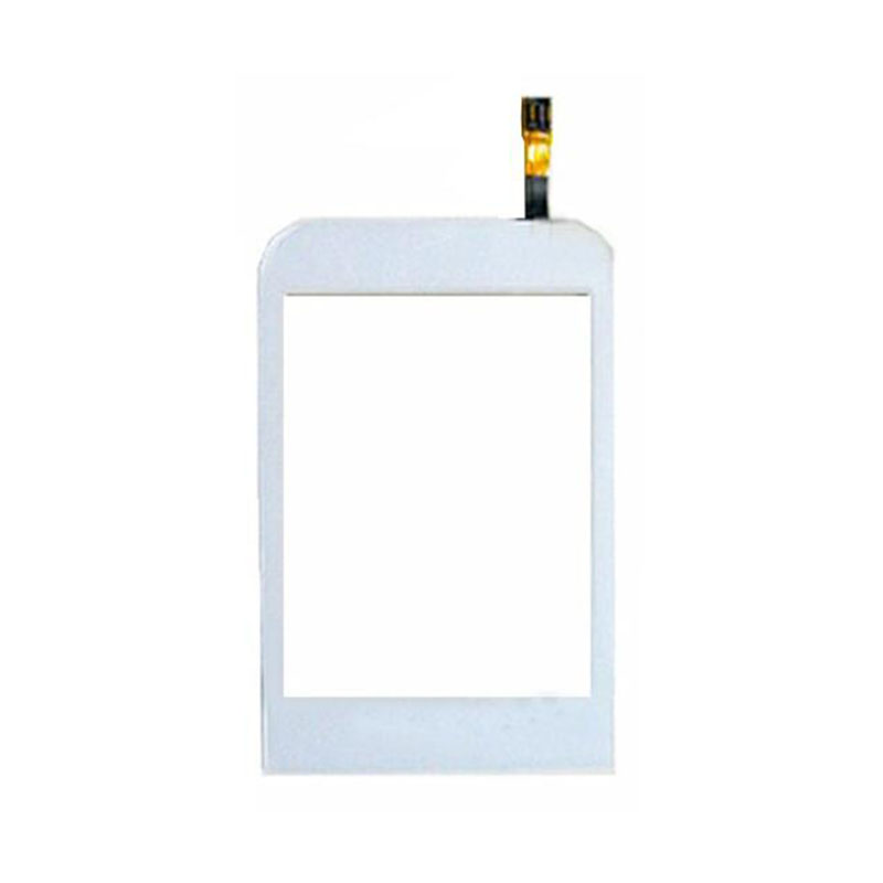 White Color Touch Glass Screen Replacement For Samsung C3300 C3300K 3300 Free shipping(China (Mainland))