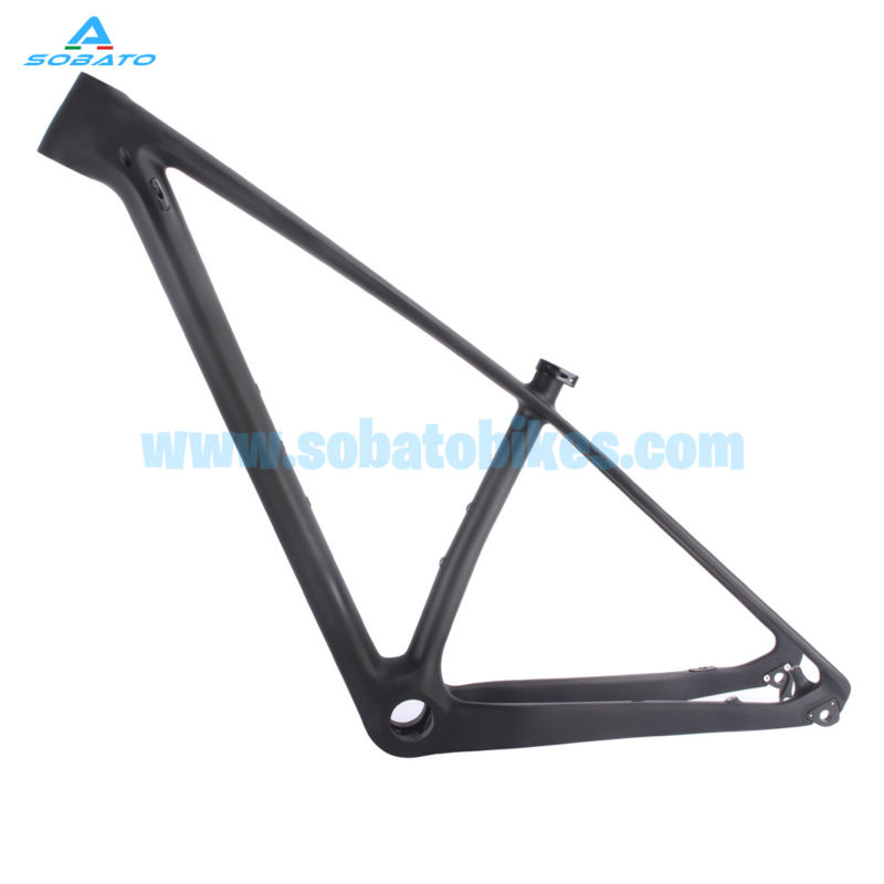 Newest 15.5/17/18.5/20 29er MTB bike T800 carbon fiber frame ,29er mountain bike carbon frame 2015 .(China (Mainland))