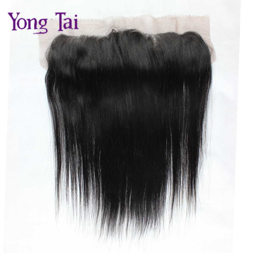 "Фотография 1pc Ear to Ear 13""x4"" Full Mongolian Lace Frontal Closure Top Quality Straight Lace Frontal Mongolian Virgin Hair,Single Piece"